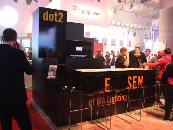 dot2 at Prolight + Sound 2015